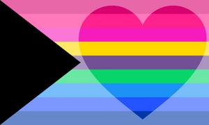 Demimultiromantic Pride Flag (2)