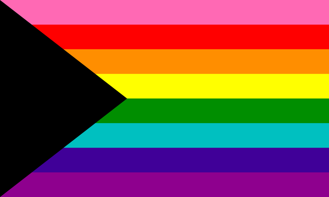 Demi sexuality flag