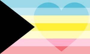 Demitriromantic Pride Flag