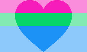 Polyromantic (masculine leaning) Pride Flag