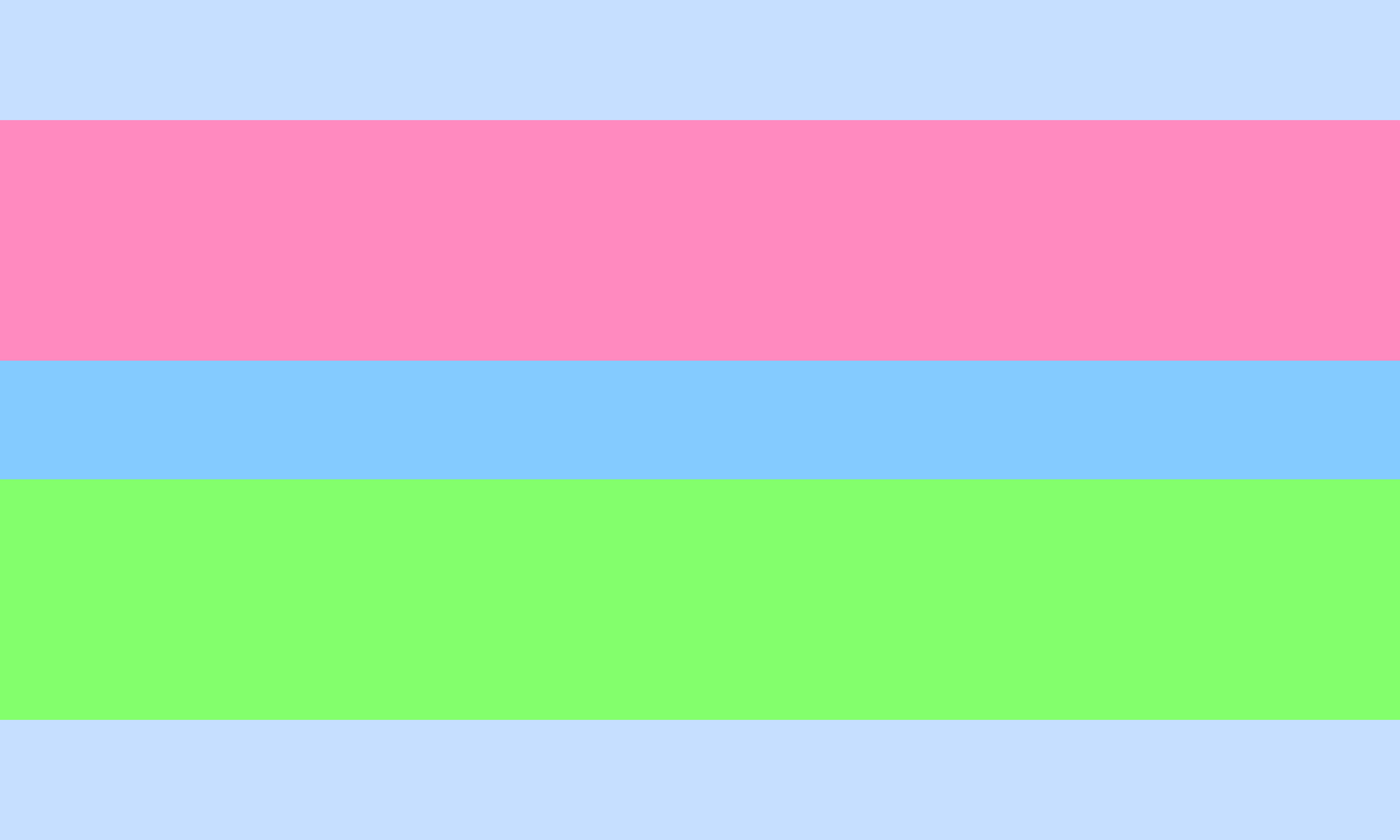 Polyalterous Feminine/Neutral Leaning Pride Flag by Pride-Flags
