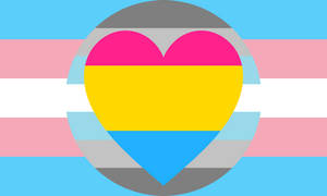 Trans Demiboy Pansexual Combo Flag