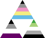 Polygender Ace Aro Triforce