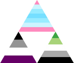 Trans Man Ace Aro Triforce