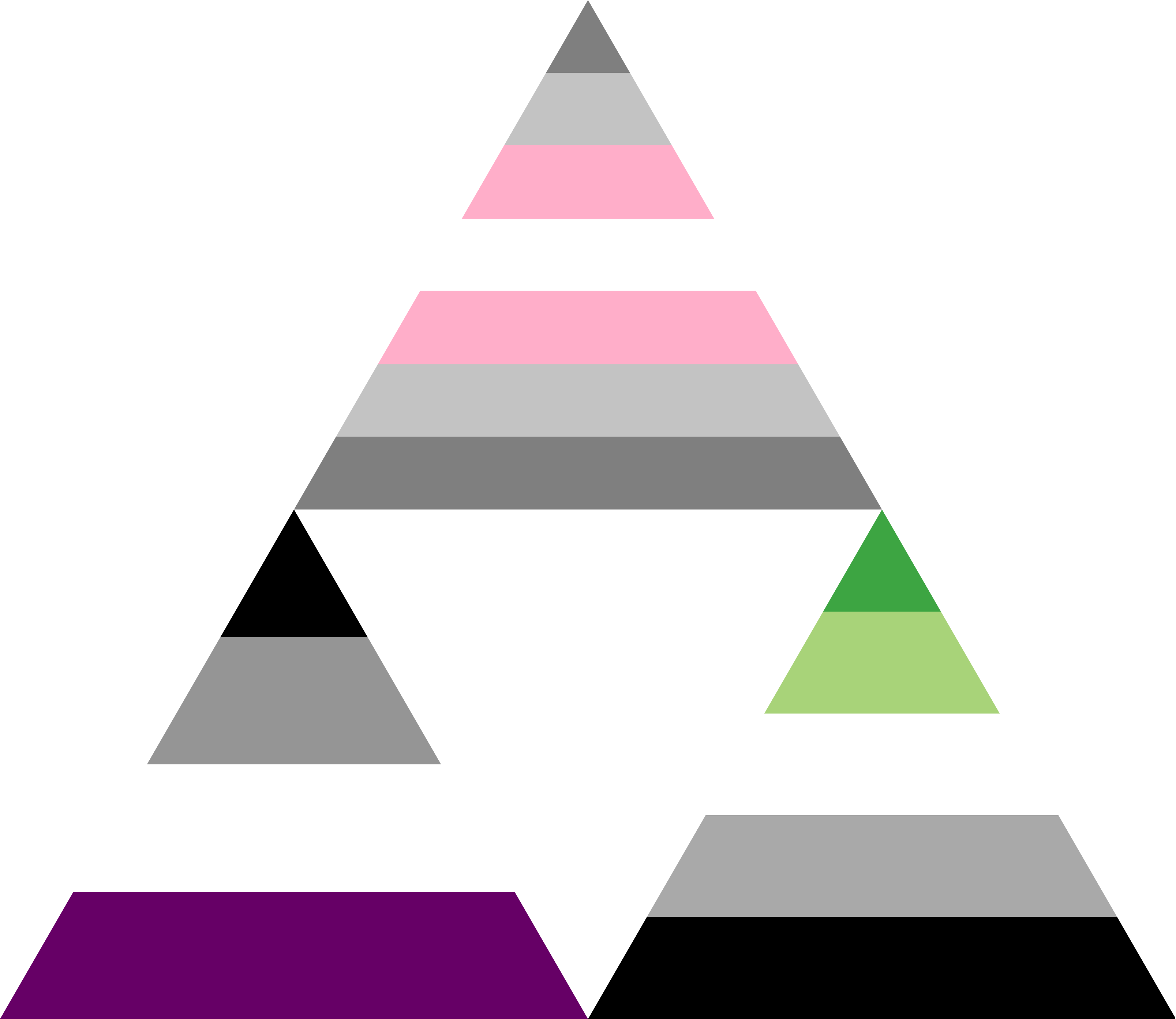 Demigirl Ace Aro Triforce