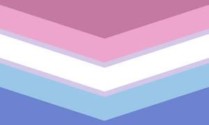 Bigender Queer Chevron (2)