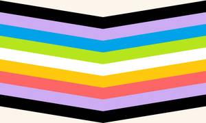 Queer Queer Chevron (Cream) (1)