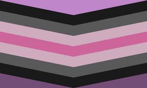 Librafeminine Queer Chevron (Purples) (2)