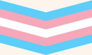 Transgender Queer Chevron (Cream)