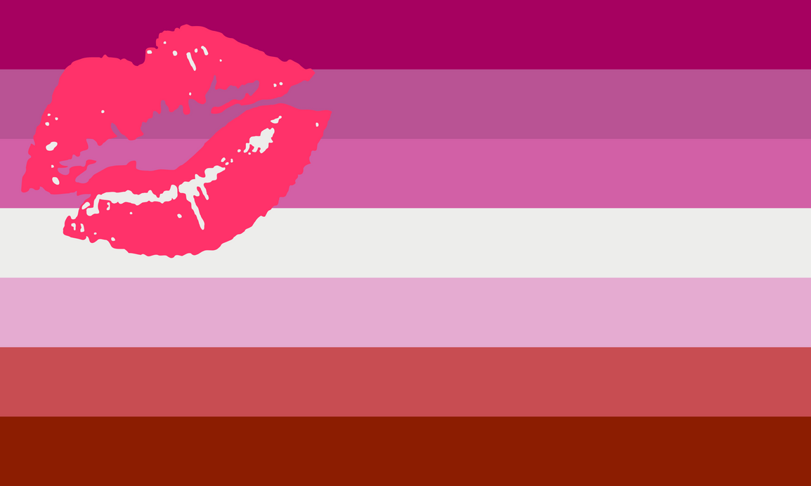 Lipstick Lesbian by Pride-Flags