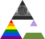 Staticgender Gay Genderqueer Triforce
