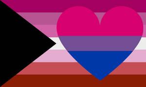 Demi-lesbian Biromantic Combo