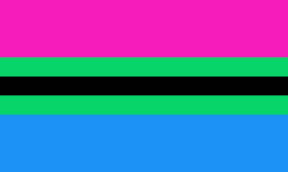 Black Poly- Pride