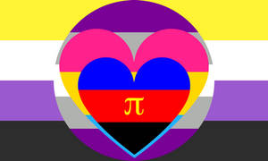 Nonbinary Graysexual Panromantic Polyamory Combo