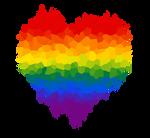 Gay Glitch Heart