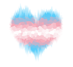 Transgender Glitch Heart