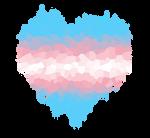 Transgender Glitch Heart