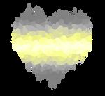 Deminonbinary Glitch Heart