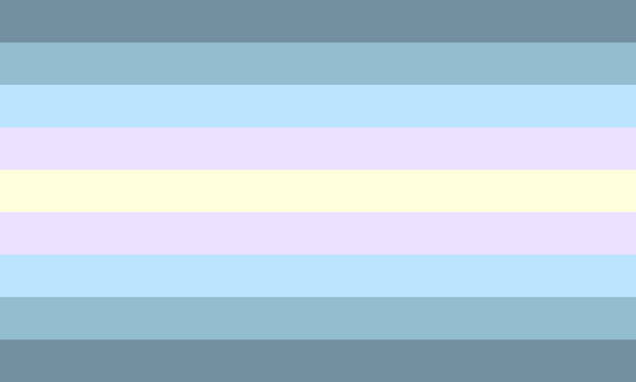Homdoux/Genderdoux Homme by Pride-Flags