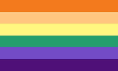 Nonbinary Gay by Pride-Flags