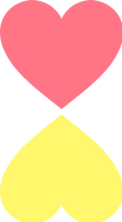 Mirrored Hearts (Used in Reflectigender flag)