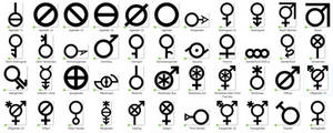 Gender Symbol Glossary