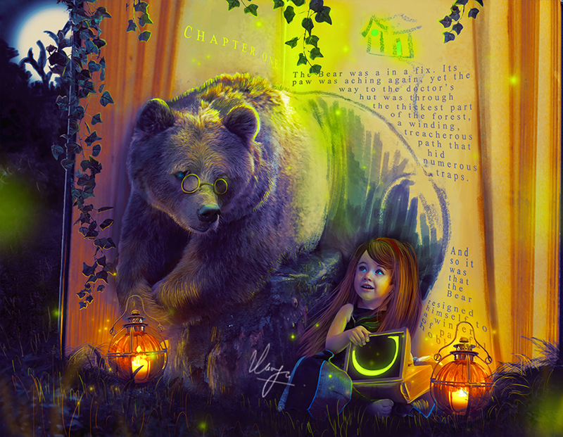 bear_and_girl_by_azimutth_daz8w9_by_azim