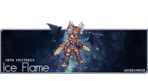 Ice Flame - Xeta Mistress by amibunnie