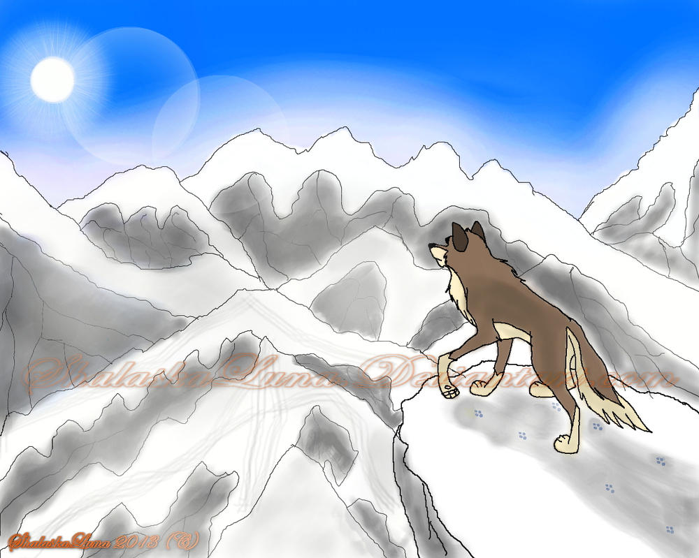 Balto exploration colorier final by ShalaskaLuna