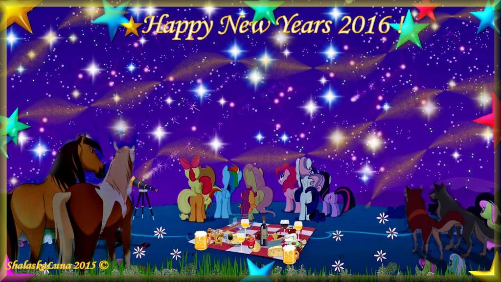 Bonne annee 2016 ! by ShalaskaLuna