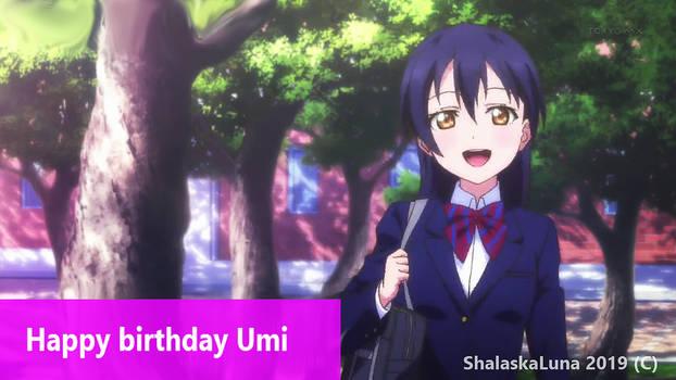 Happy birthday Umi Sonoda