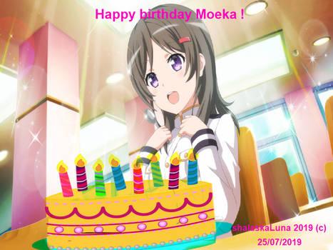 Happy birthday Moeka China