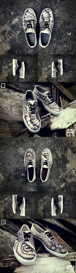 VltraBlack, custom shoes