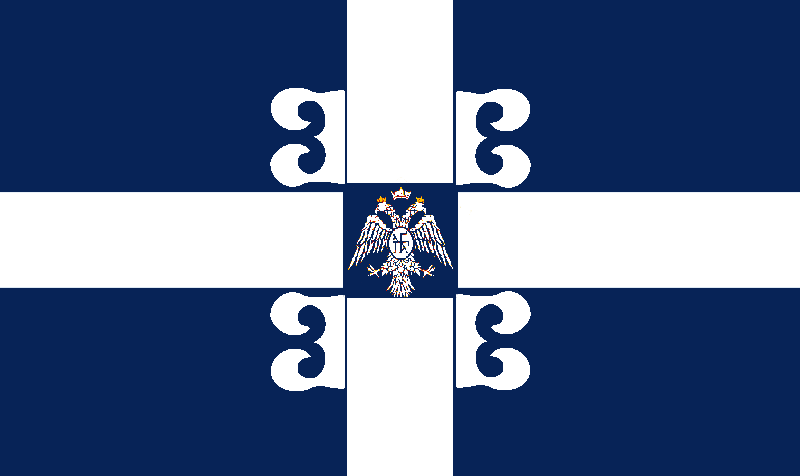 Flag of the Constantinian Empire by EmperorAlexander
