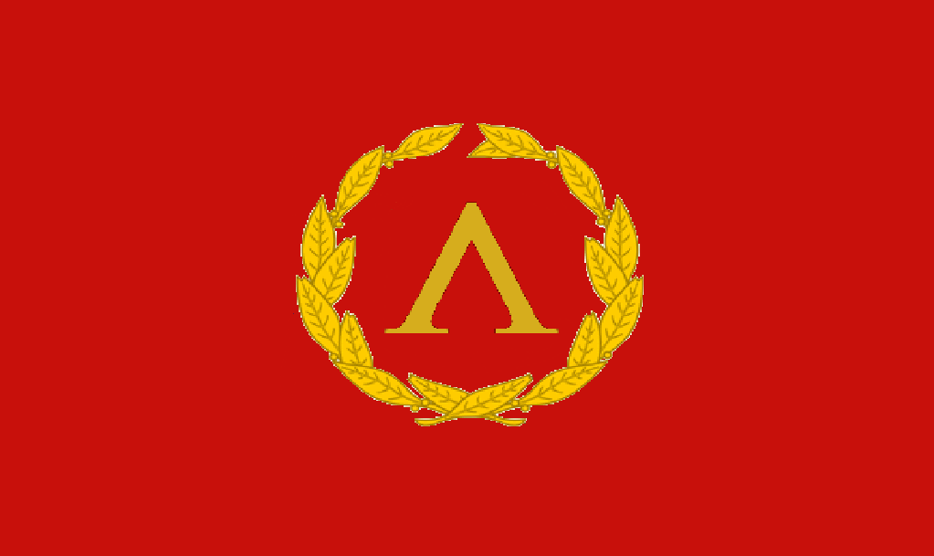 Flag of  Spartania by EmperorAlexander