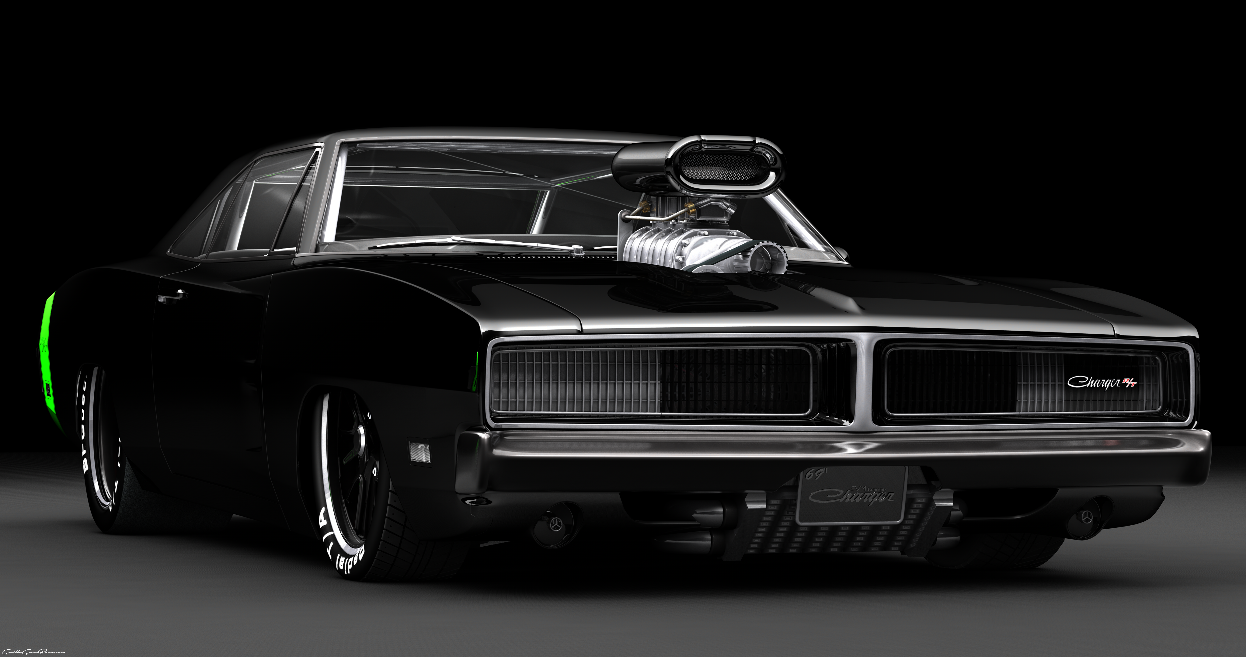 1969 dodge charger rt pro stock drag car by transc3dent on deviantart. Black Bedroom Furniture Sets. Home Design Ideas