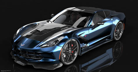 C7 Corvette Stingray Re-Render by EVM Conceptz