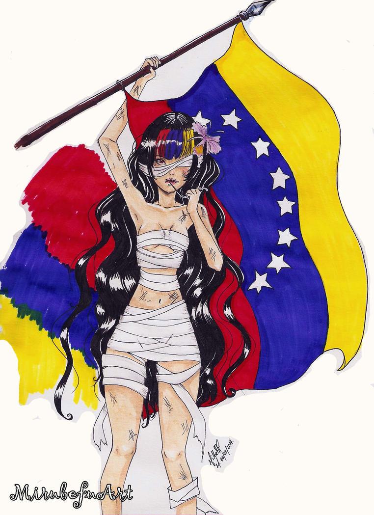 Venezuela Wake up by MirubefuArt by Mirubefu