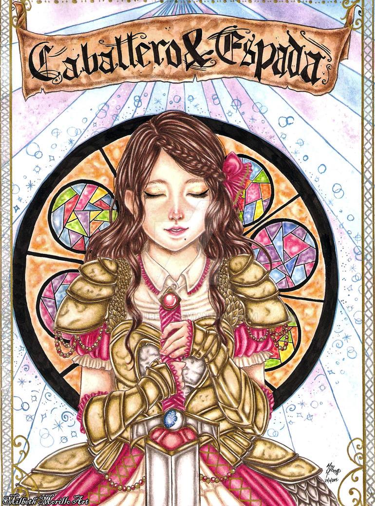 Tarot Card Knight Of Sword by Mirubefu
