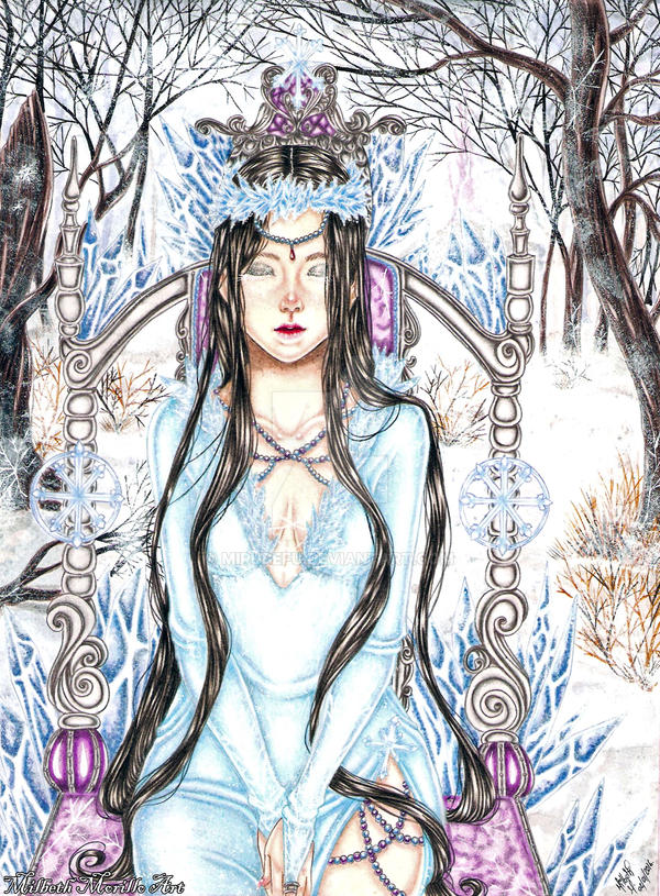 Winter Queen by Mirubefu