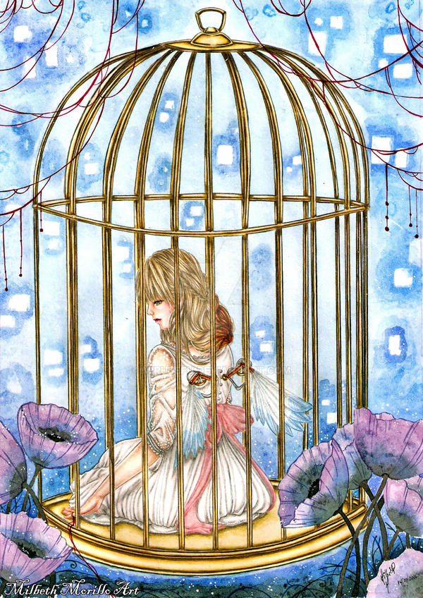 Crooked Golden Cage by Mirubefu