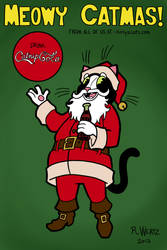 Kitty's Cats Xmas-2013 by madcurry
