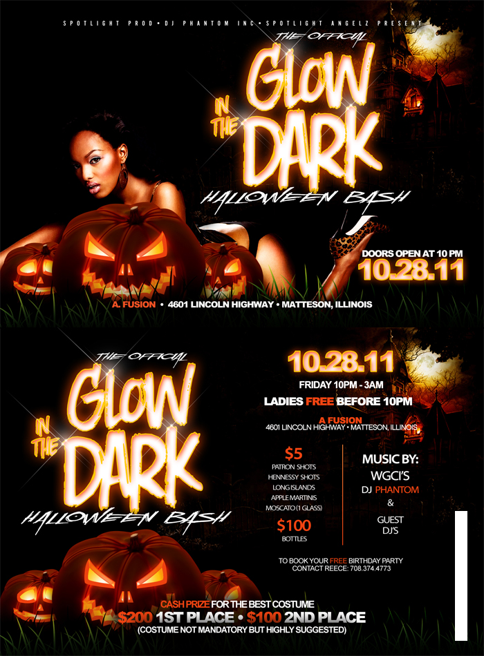 Glow N The Dark Halloween Bash by focus3dchick2007