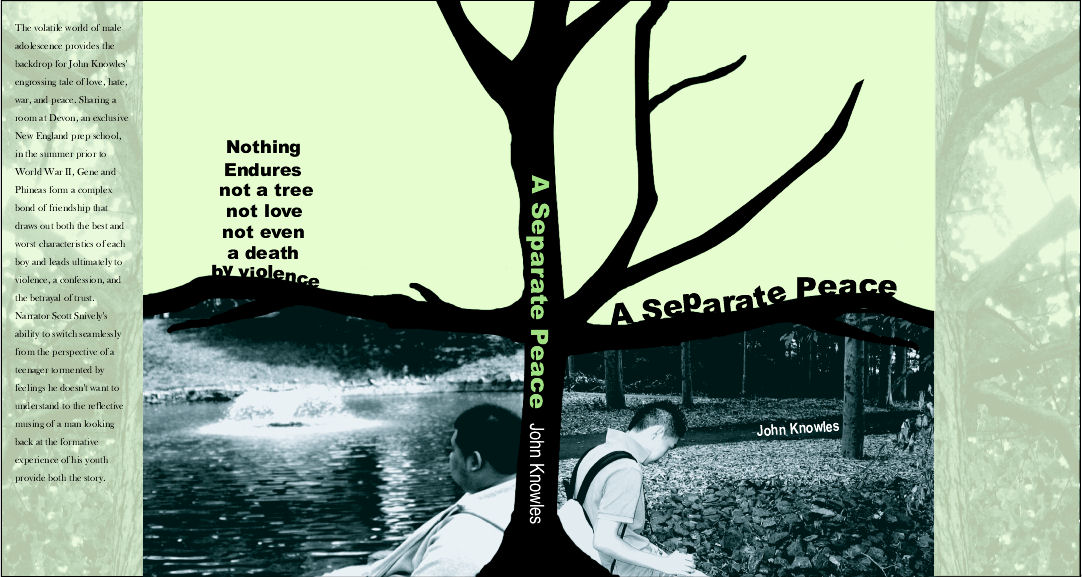 seperate peace The paperback of the a separate peace by john knowles at barnes & noble free shipping on $25 or more.