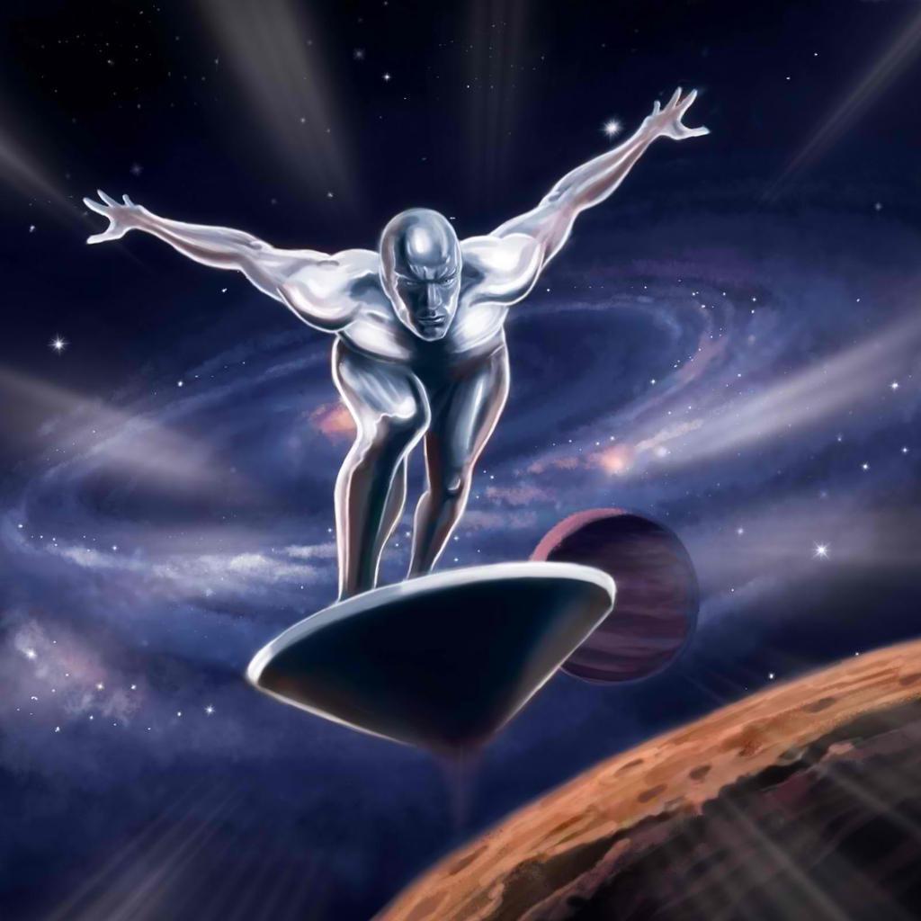 silver surfer wallpaper downloads
