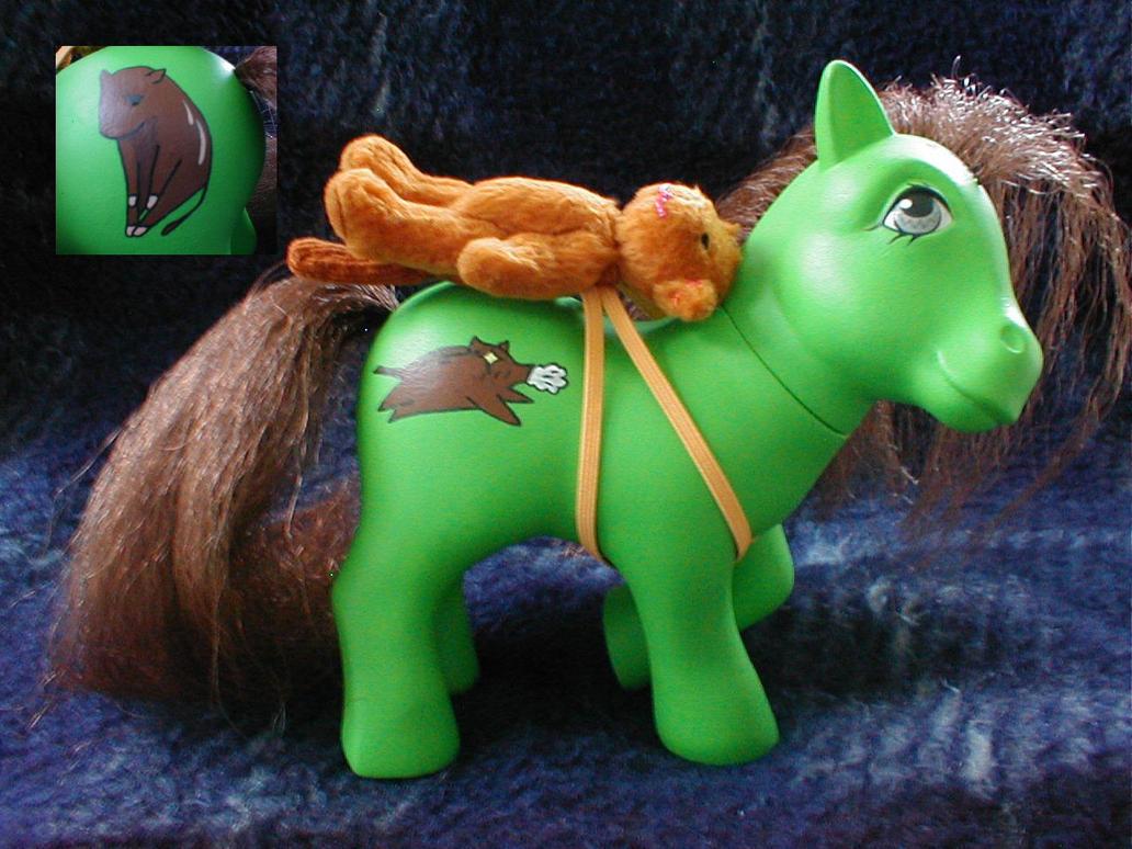 Custom Kagura My Little Pony by Mizaya