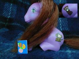Custom Ritsu My Little Pony by Mizaya