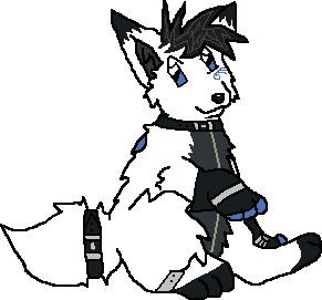 Gaku- New Lupey by Little-Blue-Wolf