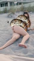 Amanda Cerny squeezed