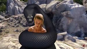 Amber Heard coiled
